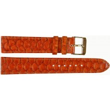 Genuine fish leather watch band FWB001 Brown