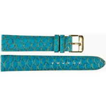 Genuine fish leather watch band FWB001 Sky Blue
