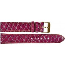 Genuine fish leather watch band FWB001 Violet