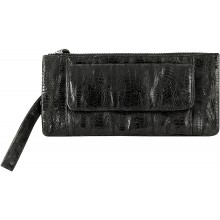 Genuine chicken / hen leather bag HBAG8822 Black