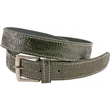Genuine hen / chicken leather belt HBELT1-2 Black