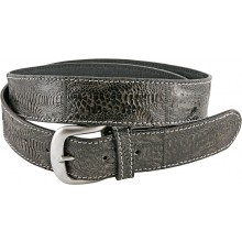 Genuine hen / chicken leather belt HBELT1-5 Black