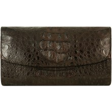 Genuine alligator leather bag HCM073HB Brown
