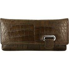 Genuine crocodile leather bag ICB042 Oak