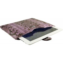 Genuine python leather iPad 2 / iPad 3 sleeve IPAD2-3-SL01PT Violet