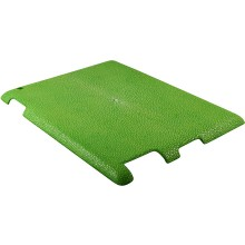 Genuine stingray leather iPad 2 case IPAD2-CP10SA Green