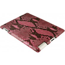 Genuine python leather iPad 2 case IPAD2-PT10 Pink