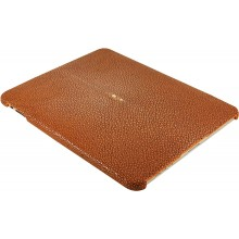 Genuine stingray leather iPad case IPAD-CP10SA Brown