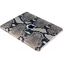 Genuine python leather iPad case IPAD-PT01 Natural