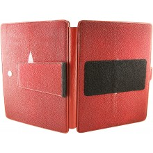 Genuine stingray leather iPad case IPAD-ST37 Fire Red