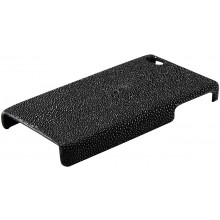 Genuine stingray leather iPhone 4 / 4S case IPHONE4-CP01 Black