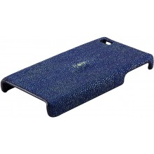 Genuine stingray leather iPhone 4 / 4S case IPHONE4-CP01 Blue
