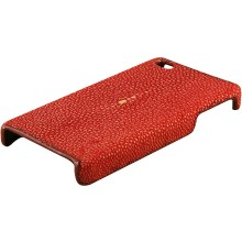 Genuine stingray iPhone 4 / 4S case IPHONE4-CP01 Fire Red