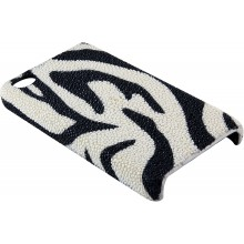 Genuine stingray leather iPhone 4 / 4S case IPHONE4-CP01S Zebra