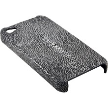 Genuine stingray leather iPhone 4 / 4S case IPHONE4-CP01SA Black