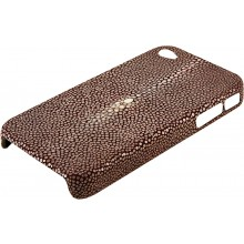 Genuine stingray iPhone 4 / 4S case IPHONE4-CP01SA Brown