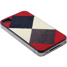 Genuine stingray leather iPhone 4 / 4S case IPHONE4-CP08SA MC1