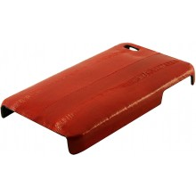 Genuine eel leather iPhone 4 / 4S case IPHONE4-EEL01 Red
