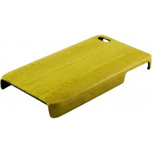 Genuine eel leather iPhone 4 / 4S case IPHONE4-EEL01 Yellow