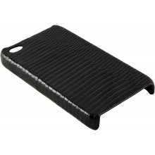 Genuine lizard leather iPhone 4 / 4S case IPHONE4-LIZ01 Black
