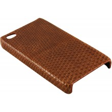 Genuine lizard leather iPhone 4 / 4S case IPHONE4-LIZ01 Tan