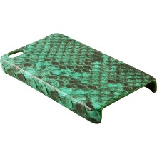 Genuine python snake leather iPhone 4 / 4S case IPHONE4-PT01 Green