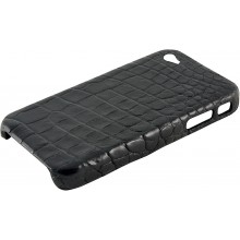 Genuine crocodile leather iPhone 4 / 4S case IPHONE4-SC20B Black