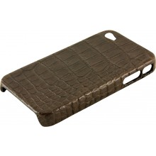 Genuine crocodile leather iPhone 4 / 4S case IPHONE4-SC20B Oak