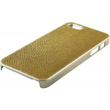 Genuine stingray leather iPhone 5 / 5s case IPHONE5-CP07SA Beige