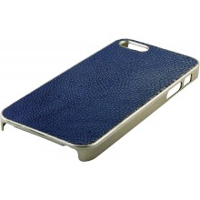 Genuine stingray leather iPhone 5 / 5s case IPHONE5-CP07SA Blue