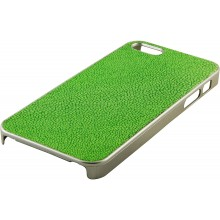 Genuine stingray leather iPhone 5 / 5s case IPHONE5-CP07SA Green