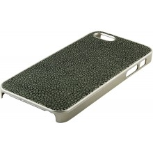 Genuine stingray leather iPhone 5 / 5s case IPHONE5-CP07SA Grey