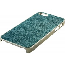 Genuine stingray leather iPhone 5 / 5s case IPHONE5-CP07SA Sky Blue