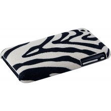 Genuine stingray leather iPhone case IPHONE-CP01S Zebra