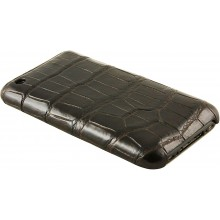 Genuine crocodile leather iPhone case IPHONE-SC20B Oak