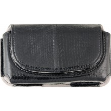 Genuine snake leather iPhone case IPHONE-SN40 Black
