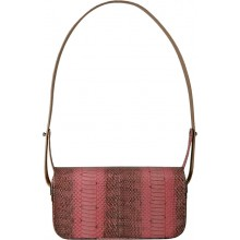 Genuine snake leather bag ISSNBAG01 Pink