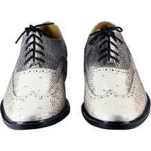 Genuine snake leather shoes ISSNSHOES01 Natural