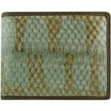Genuine snake leather wallet ISSNW001 Grey