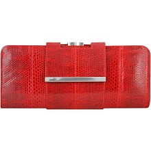 Genuine snake leather bag KTSNB017 Fire Red