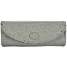 Genuine crocodile leather lipstick case LW02 Jasmine