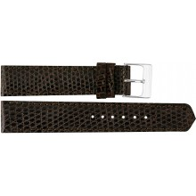 Genuine lizard leather watch band LWB001 Brown