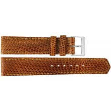Genuine lizard leather watch band LWB001 Tan
