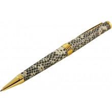 Genuine lizard leather covered pen MLIZPEN30-GT Natural