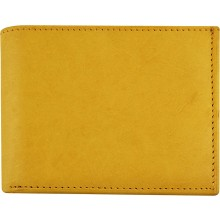 Genuine cow leather wallet P16 Tan