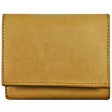 Genuine cow leather wallet P3 Beige