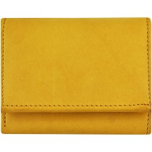 Genuine cow leather wallet P3 Tan