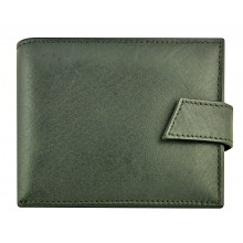 Genuine cow leather wallet P41 Black
