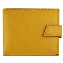 Genuine cow leather wallet P41 Tan