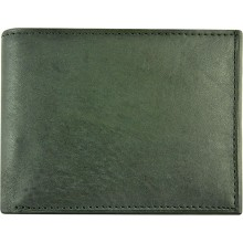 Genuine cow leather wallet P4 Black